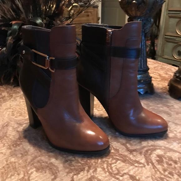 818841df2651 Aldo Shoes - ALDO BOOTiES CALF LEATHER TAN   CHOC.NEW SIZE 7